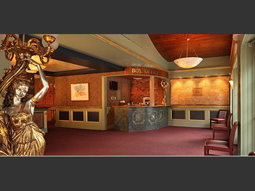 photo of lobby Sellersville Theater