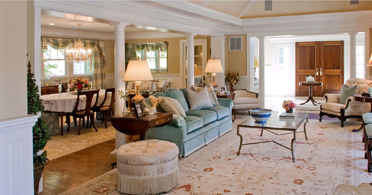 photo of Beautiful Family Room, Dining Room and Foyer