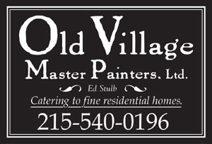Logo for Old Village Master Painters,Ltd