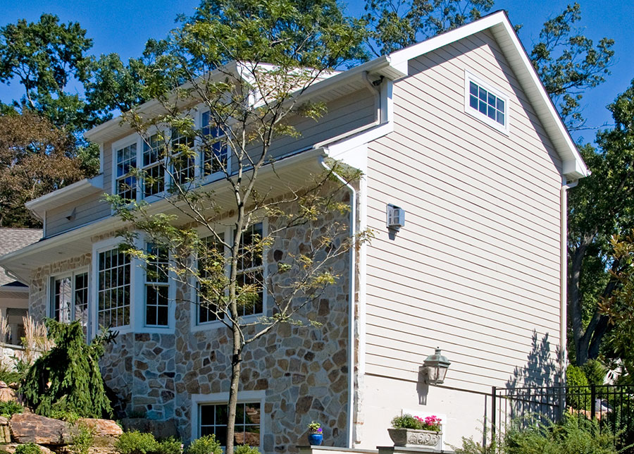 photo siding and windows painted by Old Village Master Painters